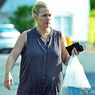 Kate Winslet Shopping While Pregnant | Pictures