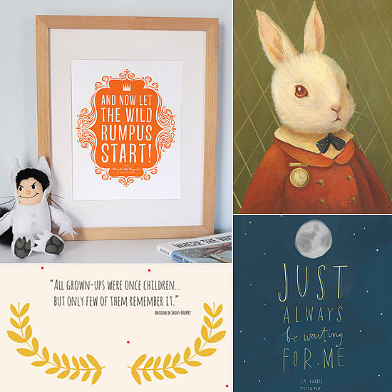 Literary-Inspired Etsy Art For Little Ones