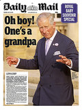 The front page of Daily Mail, from England, on July 23.