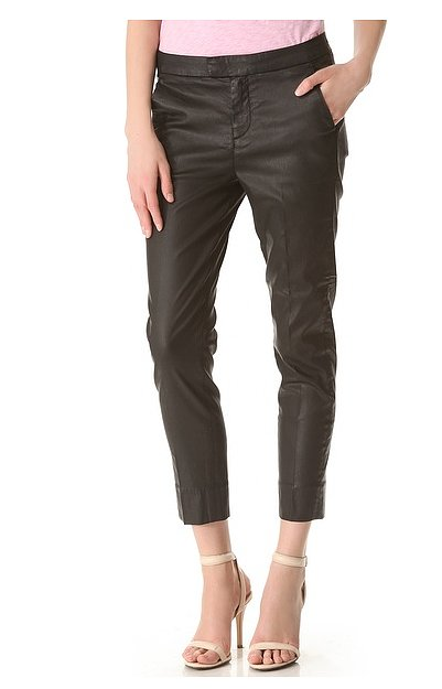 We love 7 For All Mankind's polished take on the leather look with these slim chino pants ($139, originally $198).