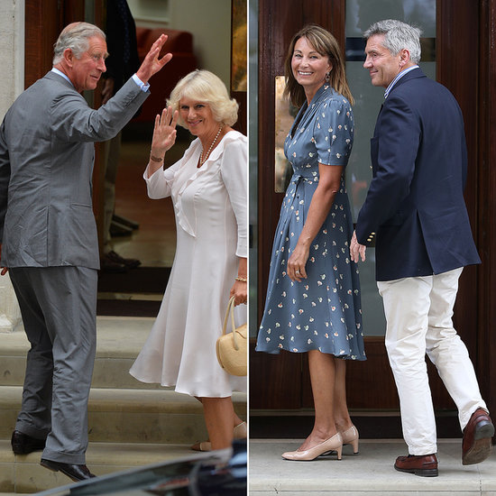 Prince Charles Visits His Grandson and Hints at His Public Debut
