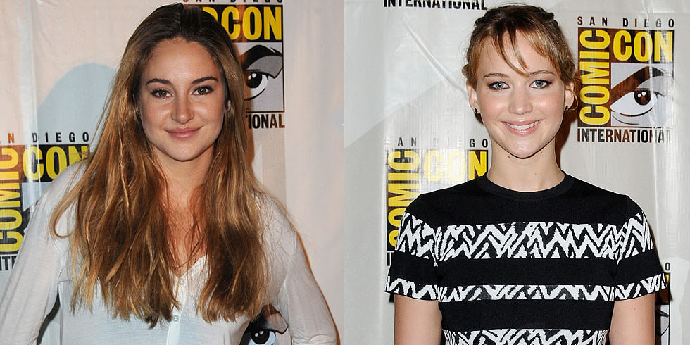 "Jennifer Lawrence's ""Beautiful Advice"" to Shailene Woodley"