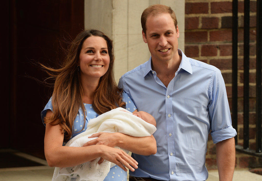 The Royal Baby Makes His First Appearance With Will and Kate!