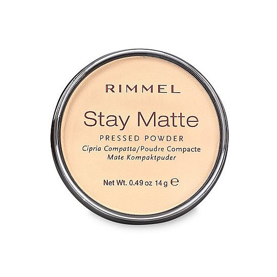 Rimmel Stay Matte Stay Matte Shine Control Pressed Powder ($5) is another great, low-cost powder option for concealing shine effortlessly.
