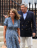 "After meeting her first grandson, the future king of England, Carole Middleton said, ""He's absolutely beautiful. We are so thrilled. They are both doing really well."""