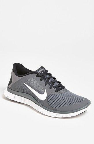 Nike 'Free 4.0 V3' Running Shoe (Men) Cool Grey/ White/ Anthracite 7 M