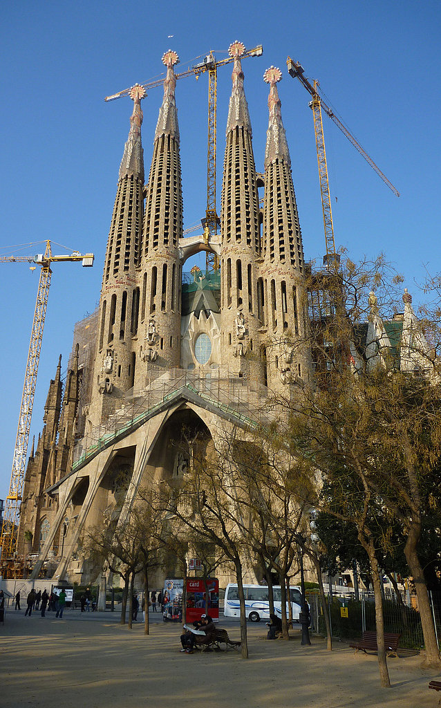 The Sagrada Familia