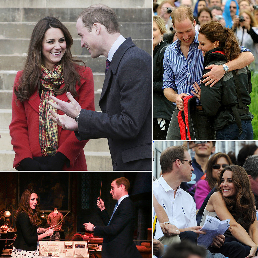 William and Kate Welcome a Boy! See Their Cutest Candid Moments