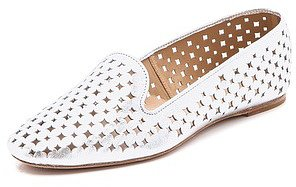 Aquazzura Roy Star Perforated Loafers