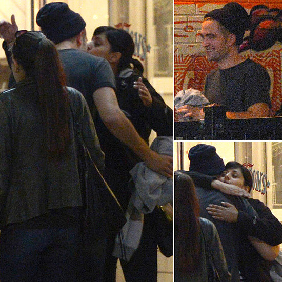 Robert Pattinson Caught Kissing a Mystery Girl in Toronto