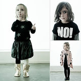 NUNUNU Baby Fall Collection Adds Some Attitude to Kids' Wardrobes