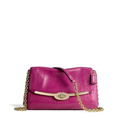 Madison Chain Crossbody In Leather