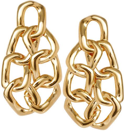 Gogo Philip Statement Chain Earrings