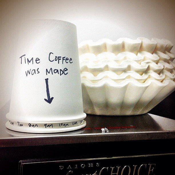 Create a Cup Clock