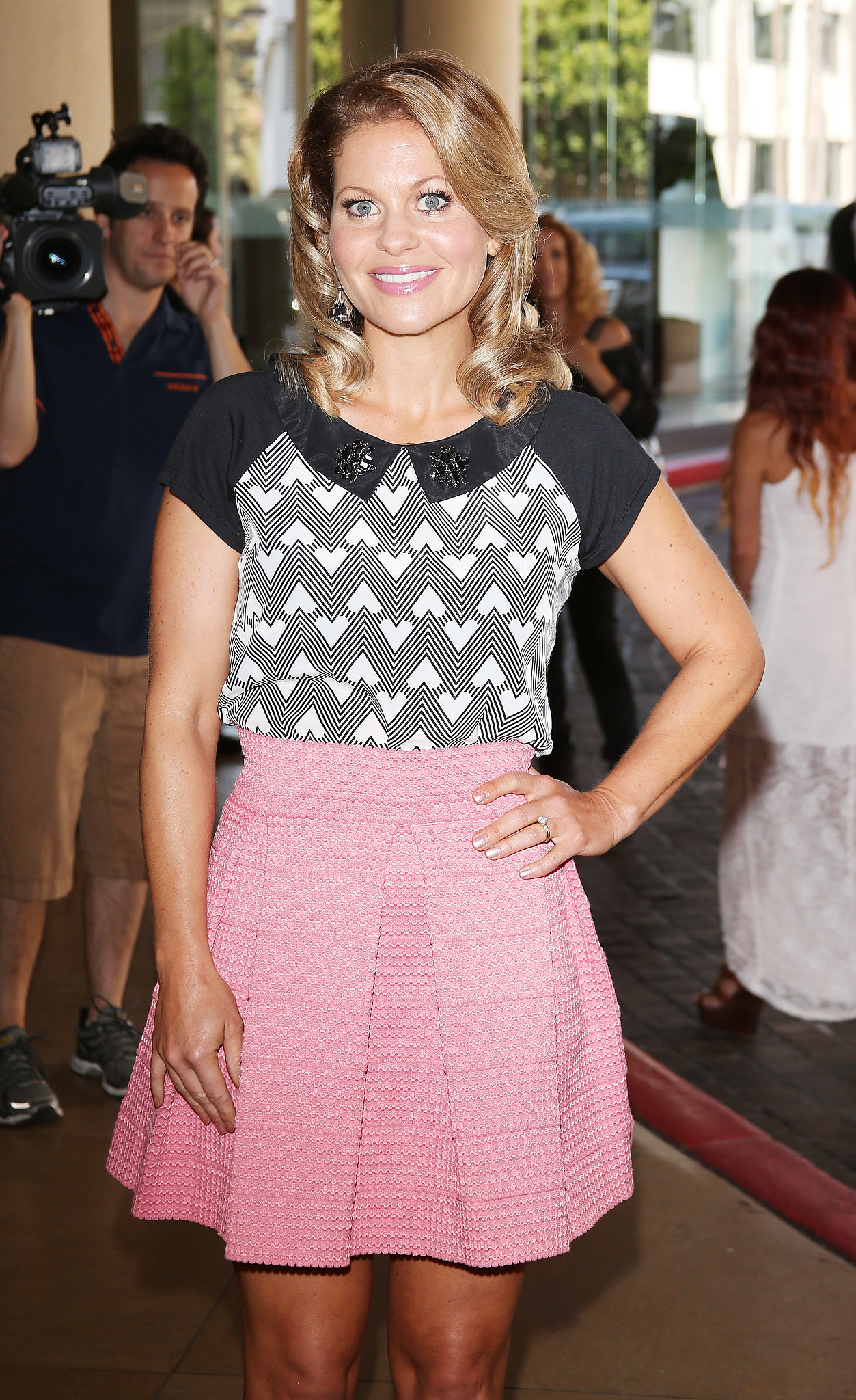 Former Full House star Candace Cameron Bure was in attendance at the event in LA.