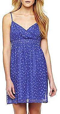 mac + jac Polka Dot Chiffon Dress