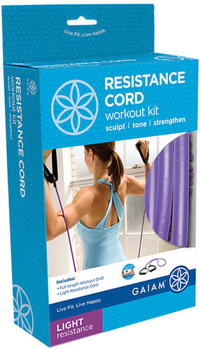 Gaiam Resistance Cord Kit - Light Resistance