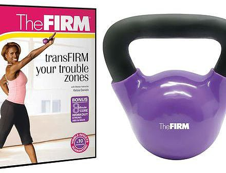 The FIRM®; 5lb Kettle Bell Kit