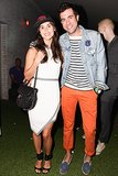 Danielle Snyder and Kristian Laliberte shared the frame at The Standard for the M Missoni music event.