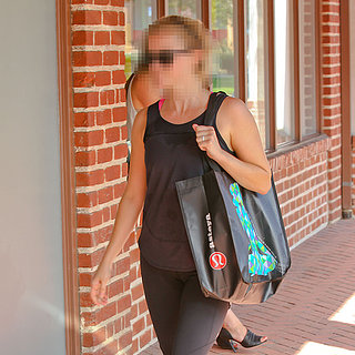 Actress Carrying Lululemon Bag After Workout