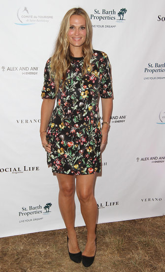 We're still fans of Phillip Lim's floral prints, so we were thrilled to see Molly Sims rocking the look at an event in the Hamptons.