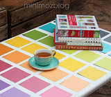 Paint Chip Table