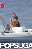Nicole Richie showed off her bikini body.