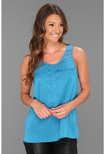 kensie - Top KS6K4036 (Caribbean Blue) - Apparel