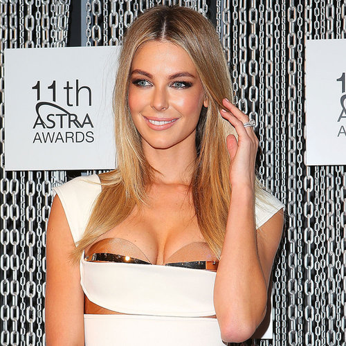 Jennifer Hawkins and Megan Gale at Last Night's ASTRA Awards