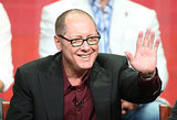 James Spader gave a wave while on stage.
