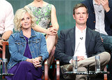 Monica Potter and Peter Krause were among the many stars on stage for the Parenthood panel.