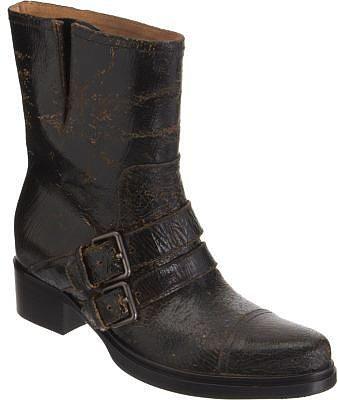 Miu Miu Crackled Double Strap Boot