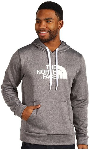 The North Face - Surgent Hoodie (Heather Grey/TNF White) - Apparel