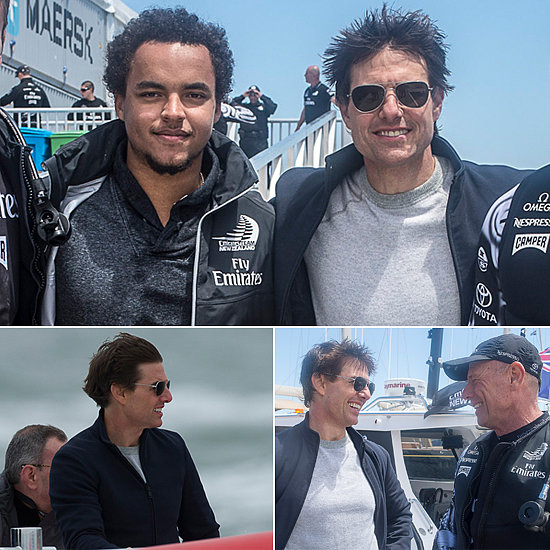 Tom Cruise Sets Sail in San Francisco