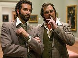 Bradley Cooper and Christian Bale in American Hustle.