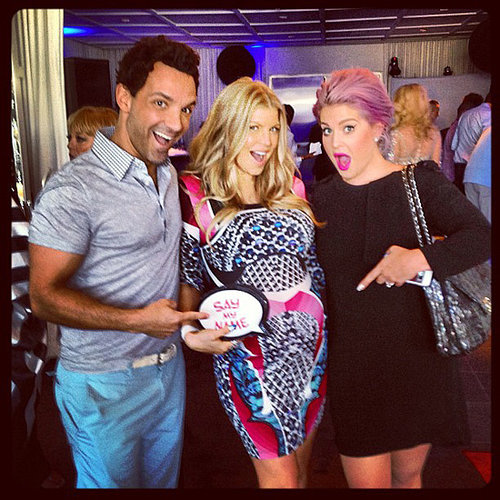 Pregnant Fergie Baby Shower Celebrity Pictures