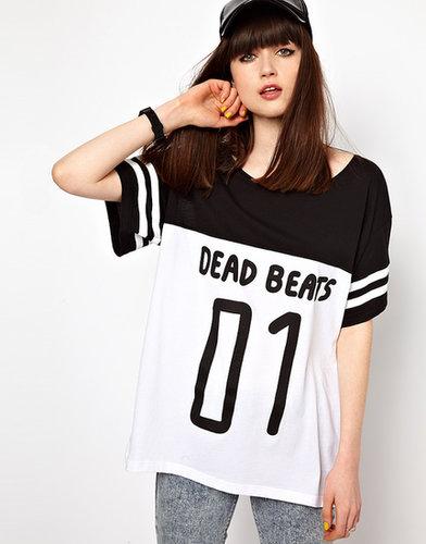 Lazy Oaf Dead Beats Football T-Shirt