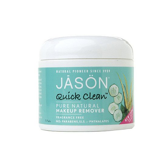 Jason Natural Quick Clean Makeup Remover Pads ($9) provide an alternative to the surfactants in most makeup removers, which can be harsh and sensitizing to skin.