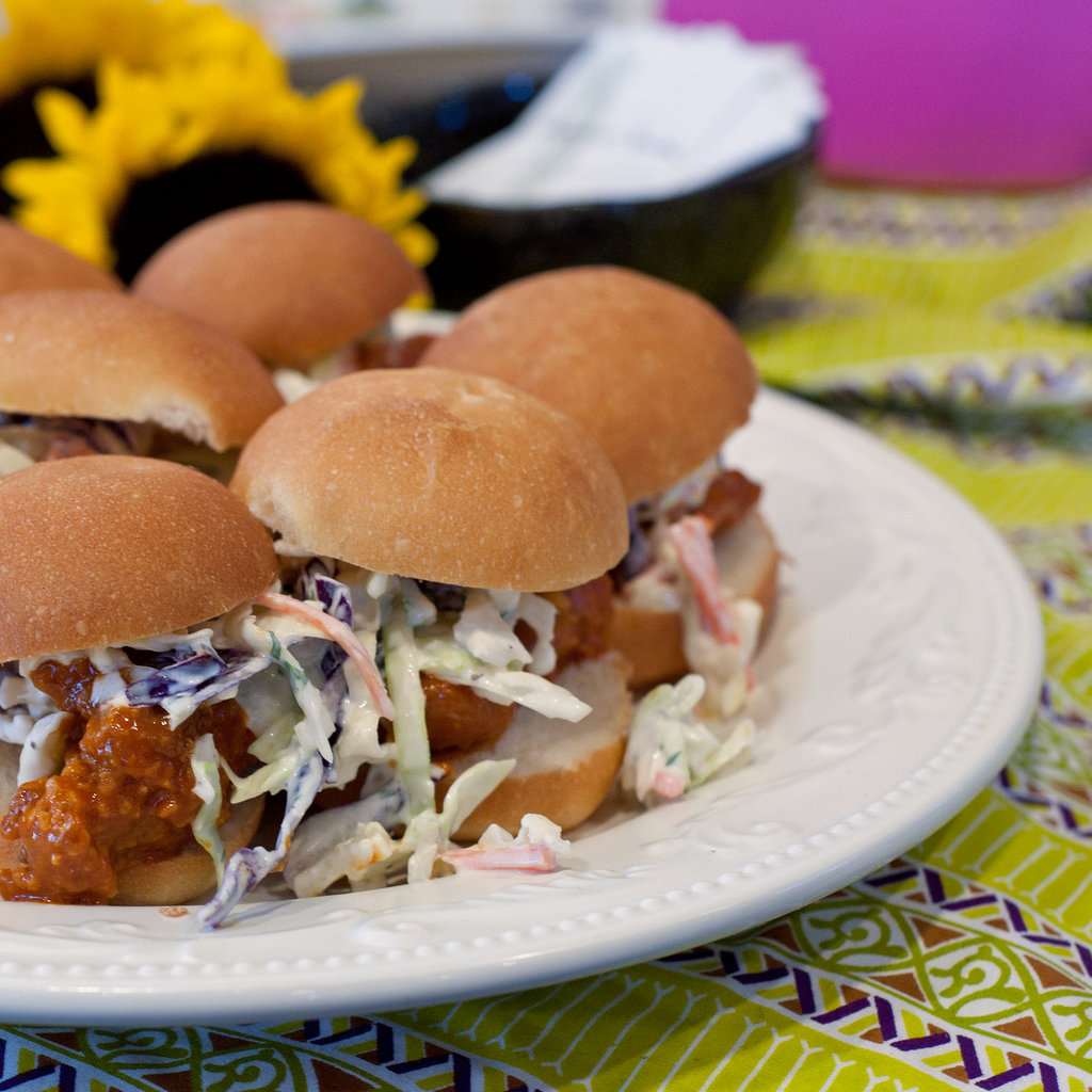 Zella's Soulful Kitchen — Buffalo Blue Chicken Sandwich