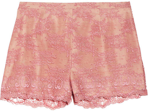 RED Valentino Lace shorts