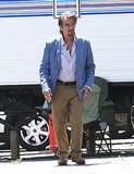 Al Pacino was on the set of Imagine in LA on Monday.