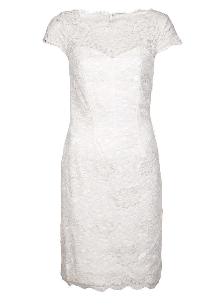 Dress, approx $400, ML Monique LHuillier at Farfetch.