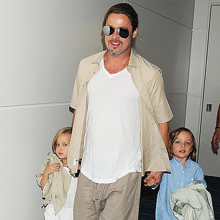 Angelina Jolie, Brad Pitt, and the Kids in Tokyo | Photos