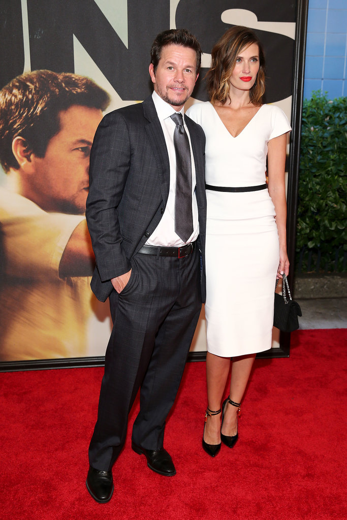 Mark Wahlberg kept Rhea Durham on his arm for the New York premiere of 2 Guns.