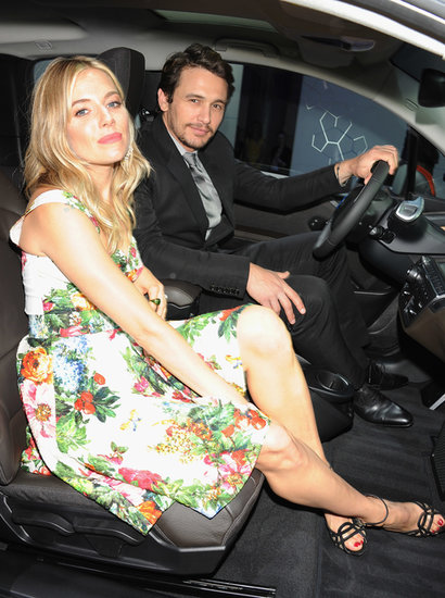 James Franco Takes the Wheel With Sienna Miller