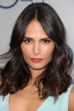 Orange lipstick is a sexy warmer month shade, and Jordana Brewster wore it well at the TNT 25th anniversary soiree.