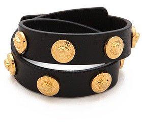 Versace Medusa Logo Wrap Bracelet