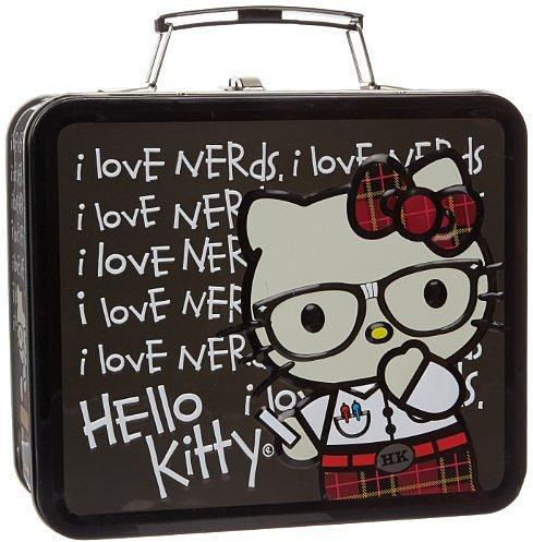 Hello Kitty Nerds Chalkboard Childrens School Lunchbox