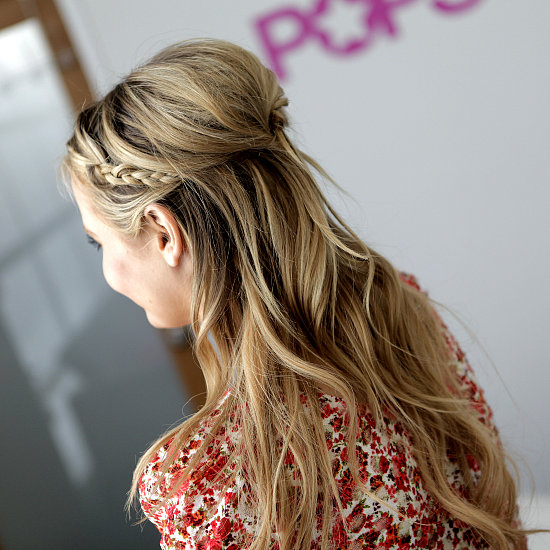 How to Re-Create Rachel Bilson's Braided Hairstyle
