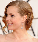 We've come a long way from the original black bobby pins, baby. Now you can find tinted pins that match just about any hair color. Take Amy Adams's copper pins, for instance, which held her red-carpet style behind her ears.